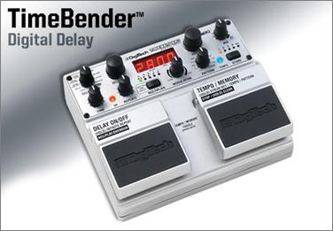 DigiTech Time Bender Delay