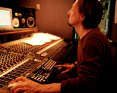 Butch Vig at the board