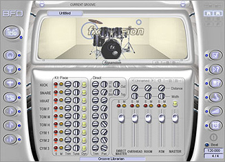 The BFD Drum Module Plugin